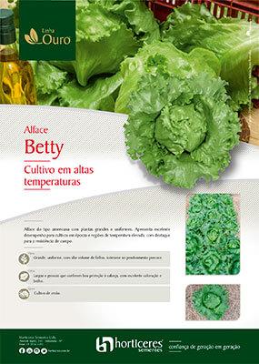 Folheto Alface Betty