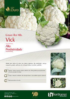 Folheto Couve-flor Híb. Vick