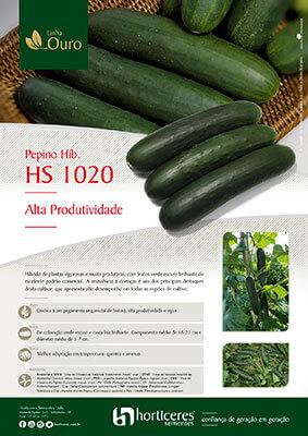 Folheto Pepino Híb. HS 1020
